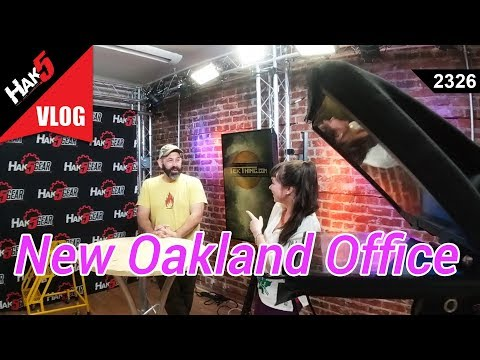 New Oakland Office - Hak5 2326