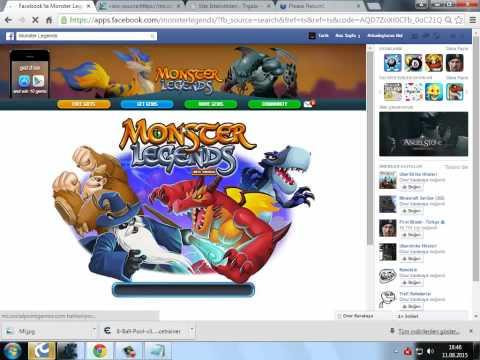 Monster Legends Haftalık Gems Hilesi