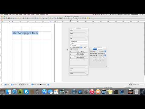 How to Make a Newspaper in Scribus