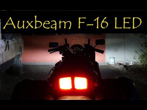 FJR1300 LED headlight - Auxbeam F16