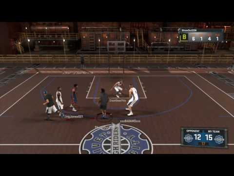 NBA 2K17 MyPark Gameplay - Im Out Here At Rivet City With Randoms