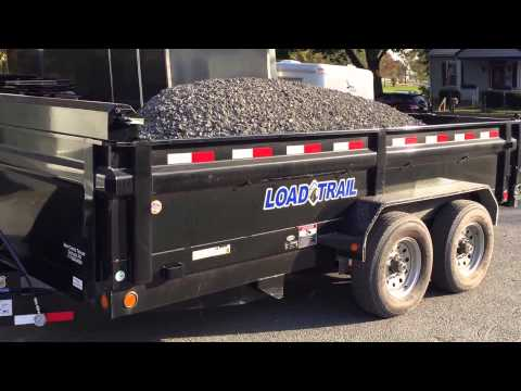 Load Trail Hydraulic Dump Trailer Payload Pressure Test DT14 14000# 717-220-4220 Best Choice Trailer