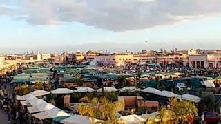 Maroc Algérie : Visite De La Ville De Marrakech