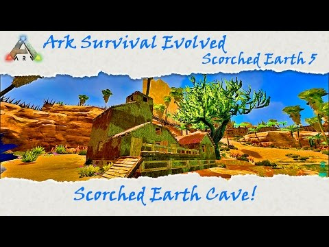 Ark Scorched Earth: Amazing Adobe House Build!