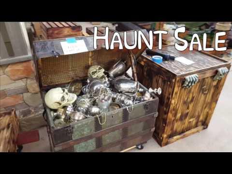 After Halloween Garage Sale - Haunt Props For Sale