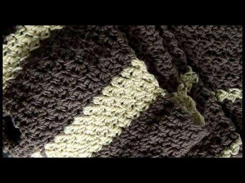 Crochet Seed Stitch Scarf (and Stitch Pattern)