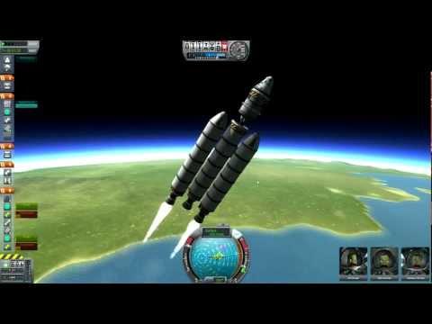 Kerbal Space Program - Orbit, EVA, IVA, and Deorbit Tutorial