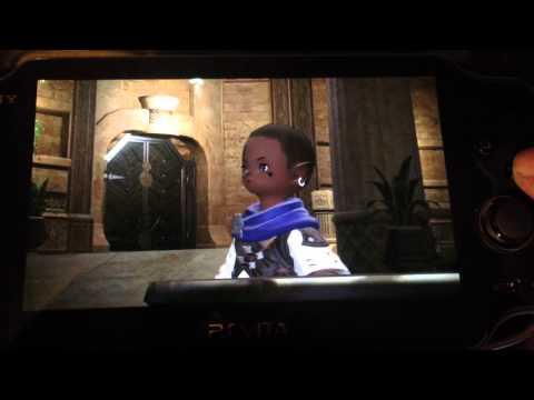 Final Fantasy XIV PS4 Beta on the PS Vita