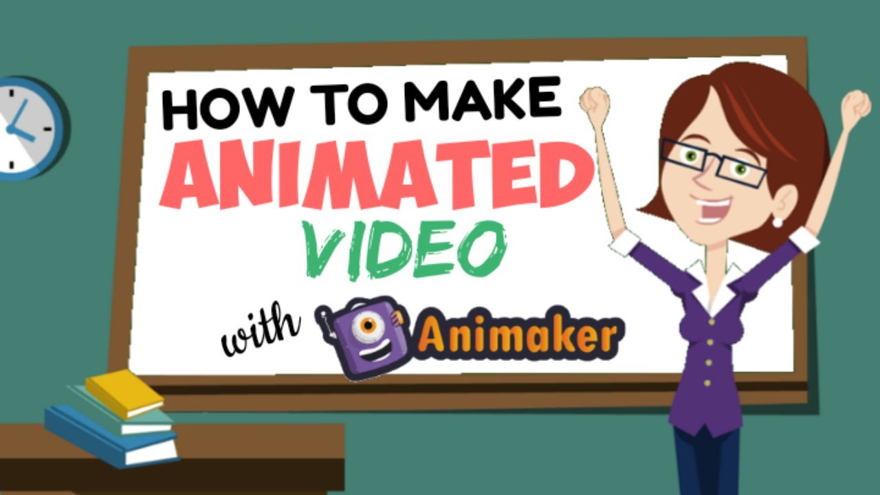 How to Make Animated with Animaker - Easy, Just Need some Clicks