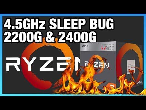 Debunking the 4.5GHz Ryzen APU Overclock   Fake Bench Scores