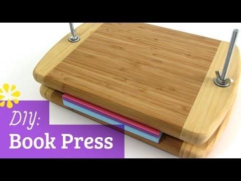 How to Make a Book Press | Sea Lemon