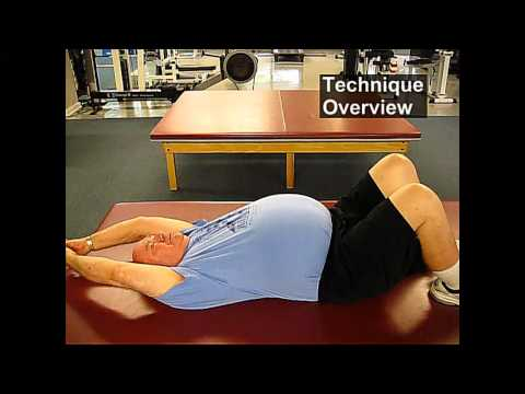 Fall Prevention Exercises (Flexibility Series) - Overhead Reach