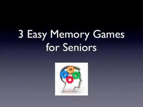 3 Easy Memory Games for Seniors