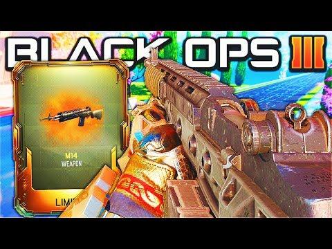 *NEW* M14 MERCENARY AR DLC WEAPON GAMEPLAY! - BLACK OPS 3 NEW DLC WEAPONS UPDATE! (BO3 1.30)