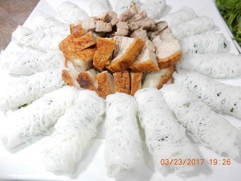 Banh Hoi Recipe