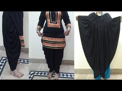 Samosa Salwar | Samosa Salwar Drafting,Cutting and Stitching Tutorial | Dhoti Salwar | For Beginners