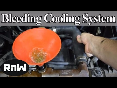How to Bleed Air Out of Your Car's Cooling System - DIY Method