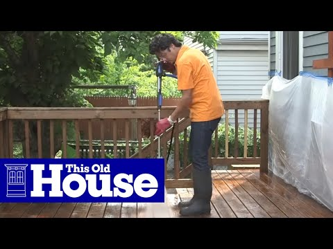 How to Restore a Deck - This Old House