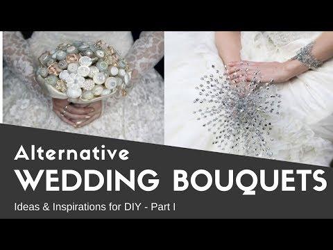 Alternative Wedding Bouquets - Part I - Ideas & Inspirations for DIY - Buquês Alternativos