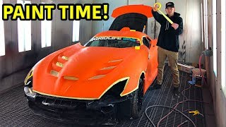 "Rebuilding A Wrecked 2014 Dodge Viper TA ""TIME ATTACK"" PART 15"