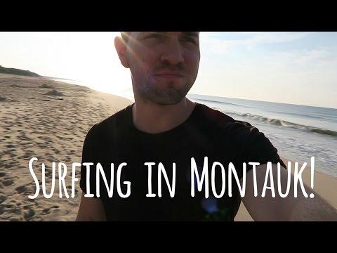 Last Minute Surf Trip in Montauk