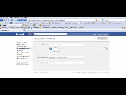 Facebook Profile Adding Your Like Page Link To It