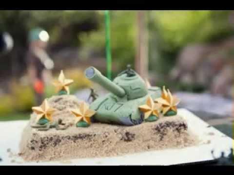 Creative DIY Army cake ideas