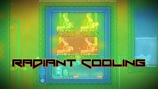 Radiant Cooling! Oxygen Not Included Experiment