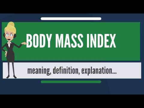 What is BODY MASS INDEX? What does BODY MASS INDEX mean? BODY MASS INDEX meaning