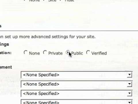 Creating User Accounts on your Church Website