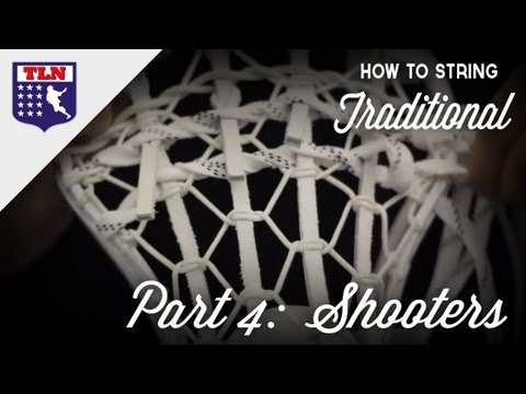 How to String Traditional Part 4: Shooting Strings