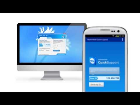 Support your iPhone, iPad or Android Device with TeamViewer