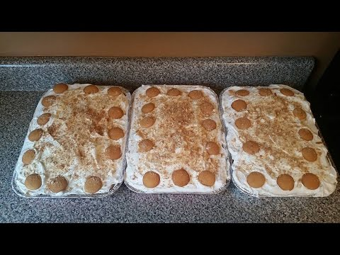 The Best Banana Pudding Cake EVER!!!