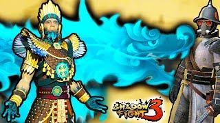 Легендарный Тенерез против Вождя Краснокожих в новой 5 главе Shadow Fight 3. Прохождение от #ФГТВ