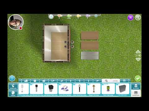 The sims freeplay table item glitch!