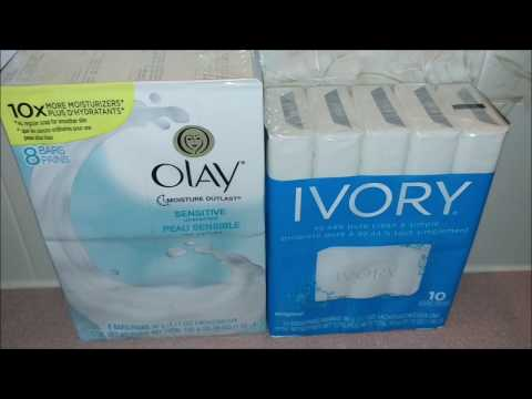 Bar Soap Review Ivory And Olay