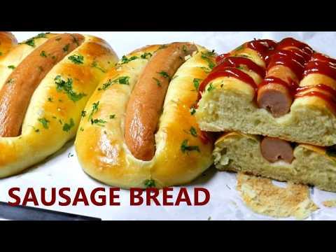 SAUSAGE BREAD Baking Sausage/Hotdog Garlic Buns TBEO Recipe
