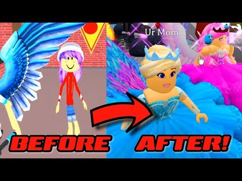 BEFORE & AFTER With CHAD In ROBLOX ROYALE HIGH SCHOOL!