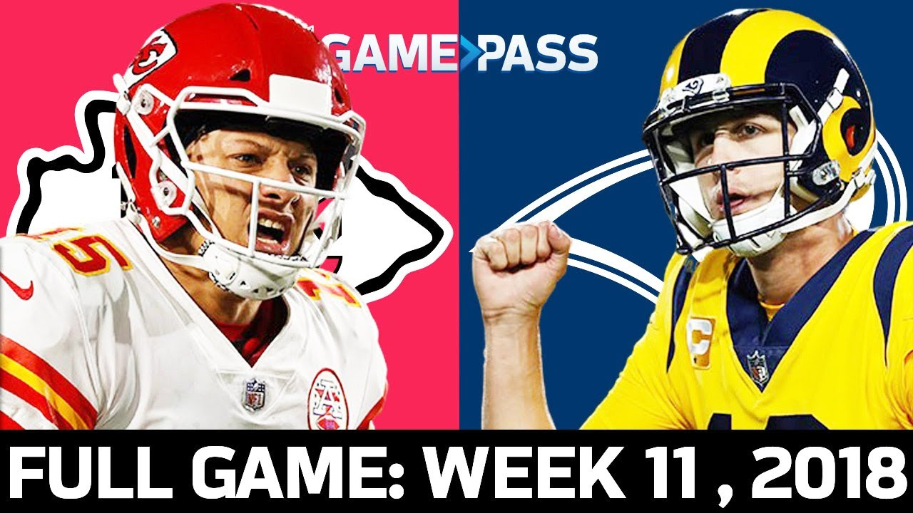 Kansas City Chiefs vs. Los Angeles Rams Week 11, 2018 FULL Game: The Greatest MNF Game Ever?