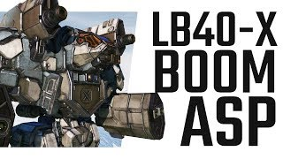 The Lb40 X Boom Asp Mechwarrior Online The Daily Dose 535