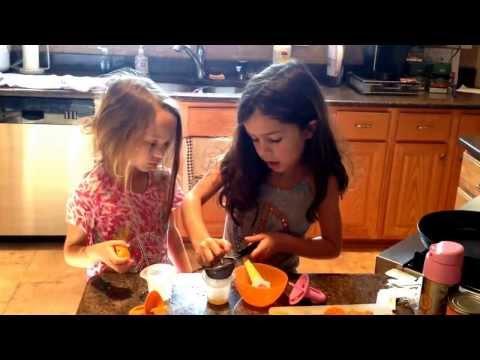 How to make orange juice pops