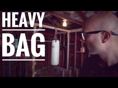 How I hung my punching bag