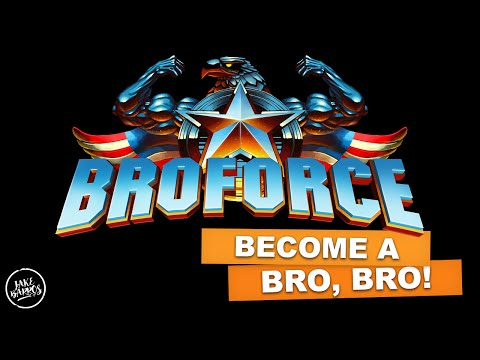 BECOME A BRO, BRO! (Jake Plays Broforce)