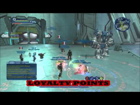 DCUO LOYALTY POINTS VS  TECC & OTHERS DC Universe Online
