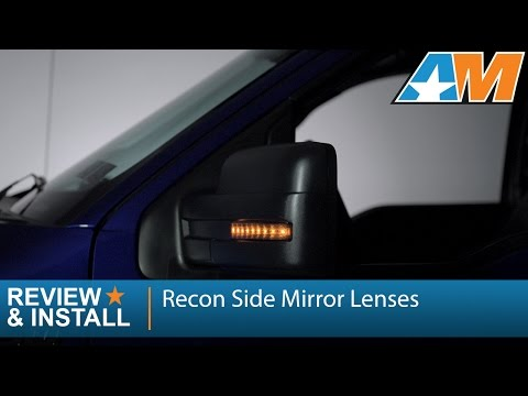 2009-2014 F-150 Recon Side Mirror Lenses w/ LEDs Review & Install