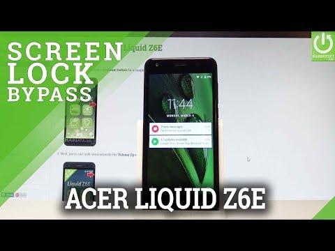 How to Hard Reset ACER Liquid Z6E - Bypass Screen Lock / Wipe Data