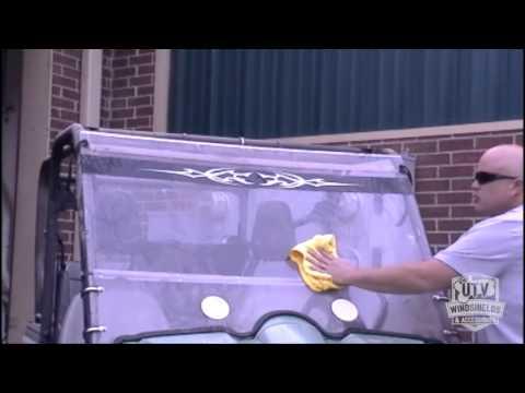 Washing Instructions for Your UTV Windshield