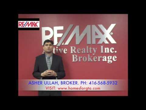 Toronto Mississauga Real Estate Agent - Asher Ullah - Broker, Real Estate, Re/max