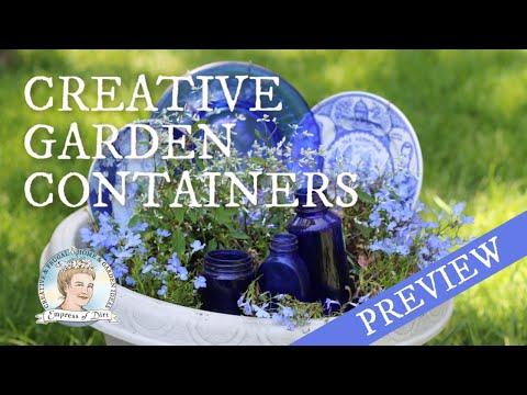 Cheap & Creative Garden Planters