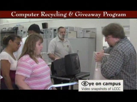 Computer Recycling and Giveaway Program